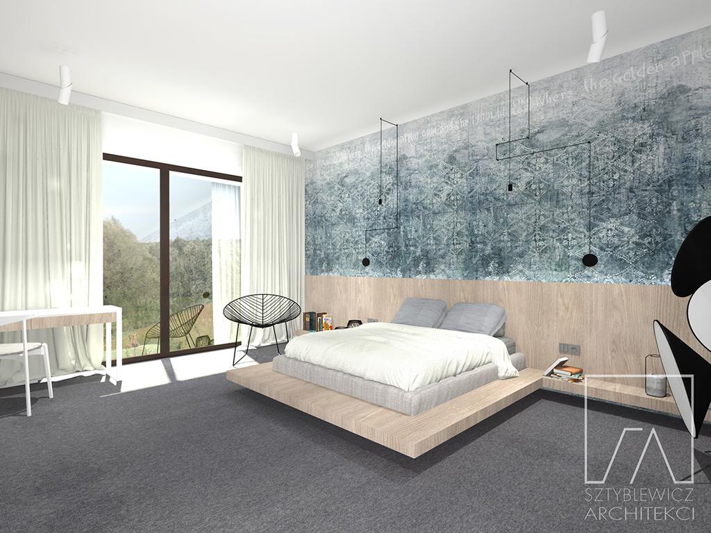 Sypialnia Z Lazienka I Garderoba